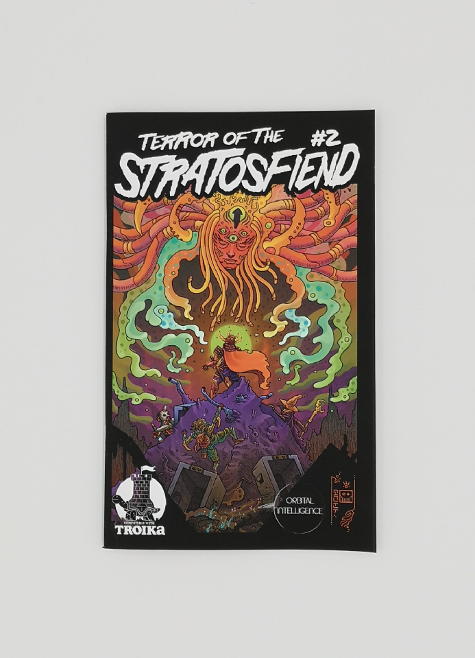 Terror of the Stratosfiend #2 : TROIKA! Edition